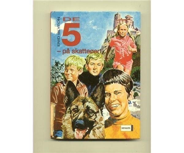 de fem bøger