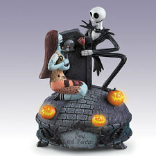 Bradford Exchange Nightmare Before Christmas Now and Forever Jack Sally Musical