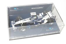 1/43 Williams BMW FW27 N.Rosberg Silverstone Test 2005