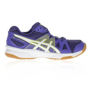 Details about Asics Junior Gel Upcourt GS Indoor Court Shoes Purple Sports Handball Trainers