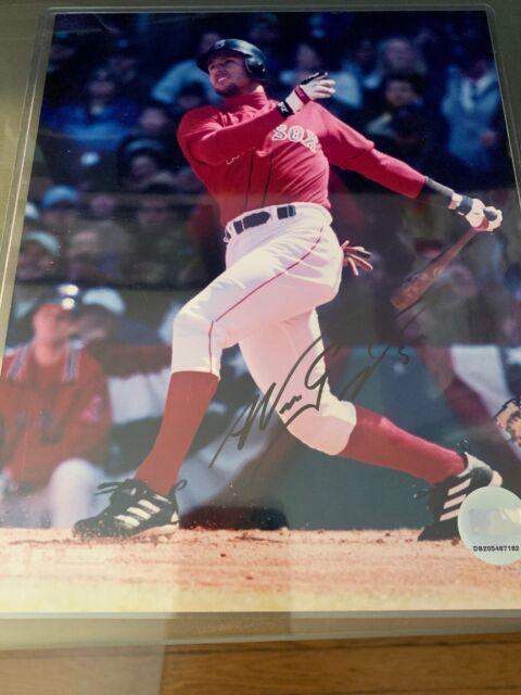 NOMAR GARCIAPARRA #5 Signed BOSTON RED SOX 8x10 photo