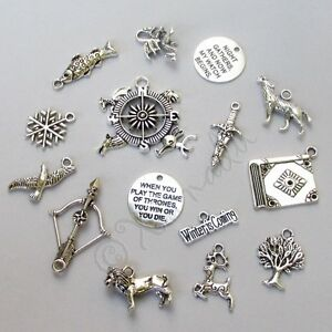 Game-Of-Thrones-Jewelry-Pendant-Charms-15PCs-Mix-CM0612-15-30-45-Or-60PCs