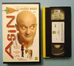 VHS-FILM-Ita-Commedia-ASINI-claudio-bisio-fabio-de-luigi-ex-nolo-no-dvd-cd-V169