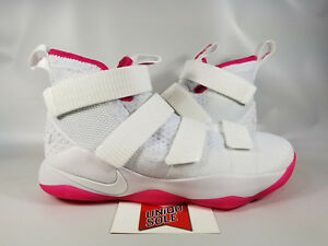 d792565fc09 Nike LeBron Soldier XI 11 BREAST CANCER AWARENESS THINK PINK 897644 ...