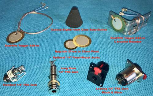 "22/"" eBridge Internal Electronic Bass-Drum Trigger Acoustic Conversion w//OctaCone"