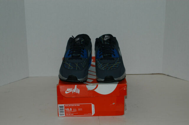 37  Nike Air Max 90 Premium Obsidian Gray Blue Size 10.5 New  43dd1fb39