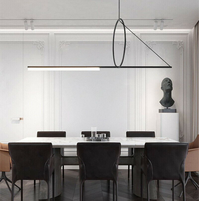 Cercle et Trait Pendant Light Fixtures FR Chandelier Christmas Gift Living Room