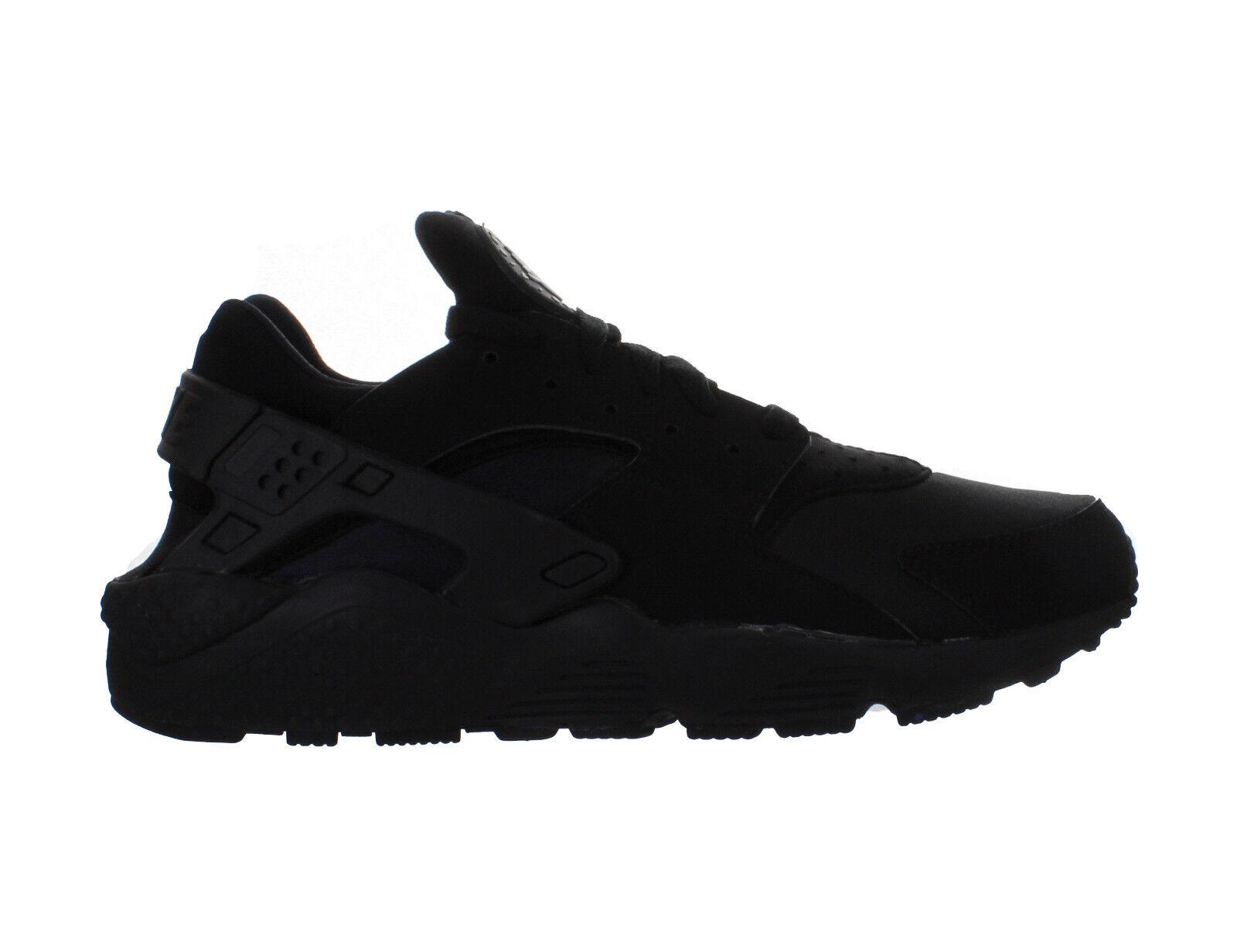 66e3e6cd75 Nike Mens Air Huarache 318429-003 Black Triple huxbc04c106570-Men's ...