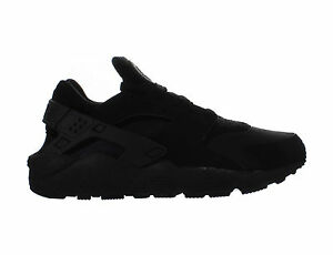 Mens-Nike-Air-Huarache-Triple-Black-318429-003