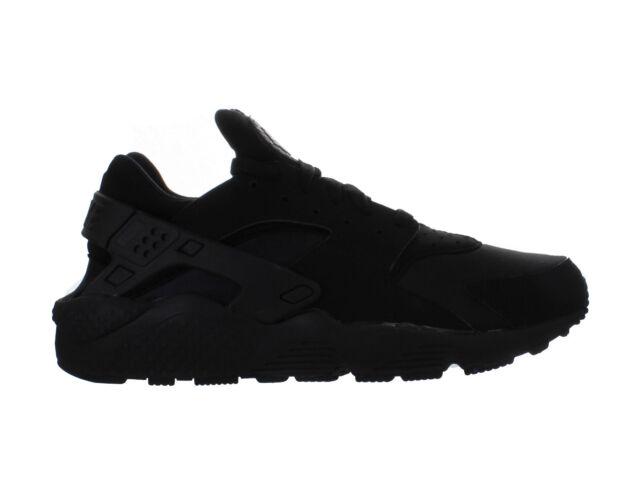 timeless design af6fe c1ce7 Mens Nike Air Huarache Triple Black 318429-003