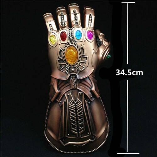 2019 Thanos Infinity Gauntlet Glove Infinity War The Avengers Cosplay end game
