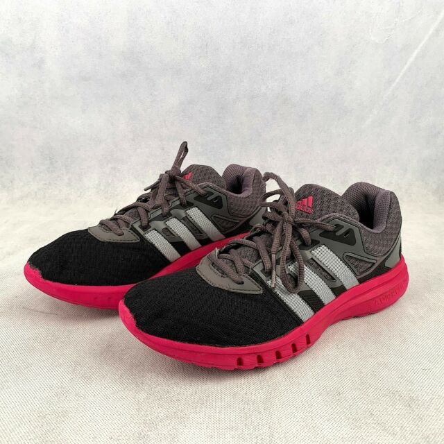 Adidas Running Shoes Women's Black Pink Athletic GALAXY 2 AF5570 Trainer US 7.5