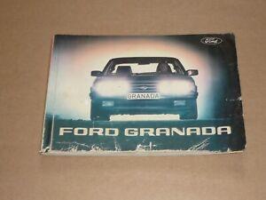 FORD-Granada-1981-Betriebsanleitung-Bedienungsanleitung-Handbuch