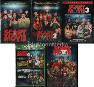 scary movie 1 2 3 4 5 dvd lot complete collection set