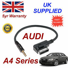 AUDI A4 Series AMI MMI 4F0051510F Music Interface 3.5mm Jack input Cable