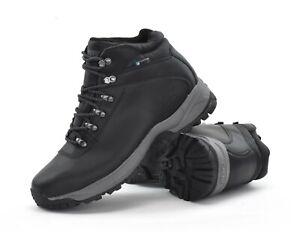88669a421bb Details about Hi-Tec EuroTrek Lite WP - Mens Waterproof Outdoor Hiking  Boots - Black - New
