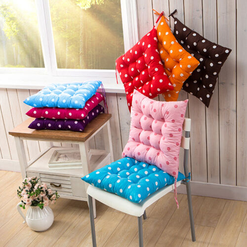 Fruit Round Chair Cushions Tie on Square Seat Pads Home Dining Kitchen Outdoor