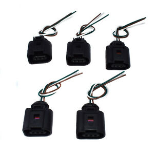 Details about 5PCS 3-Way A C Pressure Switch Sensor Wiring Plug For on