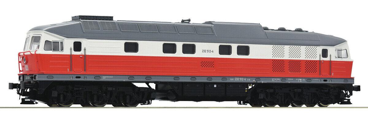 Roco 52504 diesel locomotora BR 232 (DC) de la DB AG con caja original