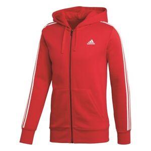 Details zu Adidas ESS 3 Stripes Full Zip Hood French Sportjacke Sweatjacke Jacke CZ7357 K1