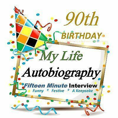 90th Birthday Party Decorations in All Departments: Autobiog