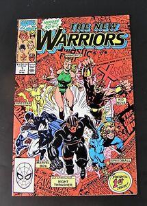 Marvel Comics THE NEW WARRIORS  #1, 1990   NM / M (e)