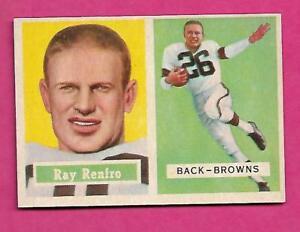 1957-TOPPS-76-BROWNS-RAY-RENFRO-NRMT-CARD-INV-C0170