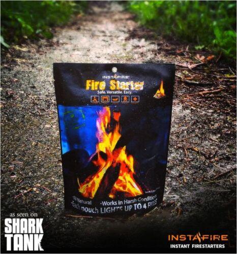 SURVIE Combustible 5 bags for EmergencyFire Starter Kit pour utilisation avec Magnésium