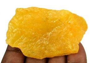 282.85 Ct Madagascar Yellow Sapphire Natural Gemstone Rough AGI Certified A17524