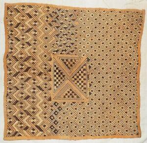 African-Kuba-cloth-Velvet-bakuba-raffia-Africa-kv341