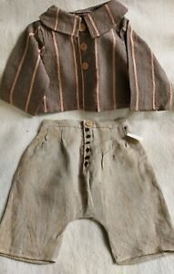 Rarity-Shabby-2-Teiler-Jacket-And-Pants-Linen-For-21-11-16-23-5-8in-Bears