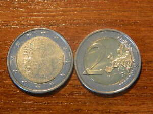 Finland-2017-TOP-2-Euro-BU-Commememorative-coin-BRANDNEW-034-INDEPENDENCE-034-FR-ROLL