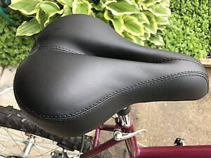 BS053 Dual Spring Designed Suspension Artificial Leat... Zacro Gel Bike Saddle