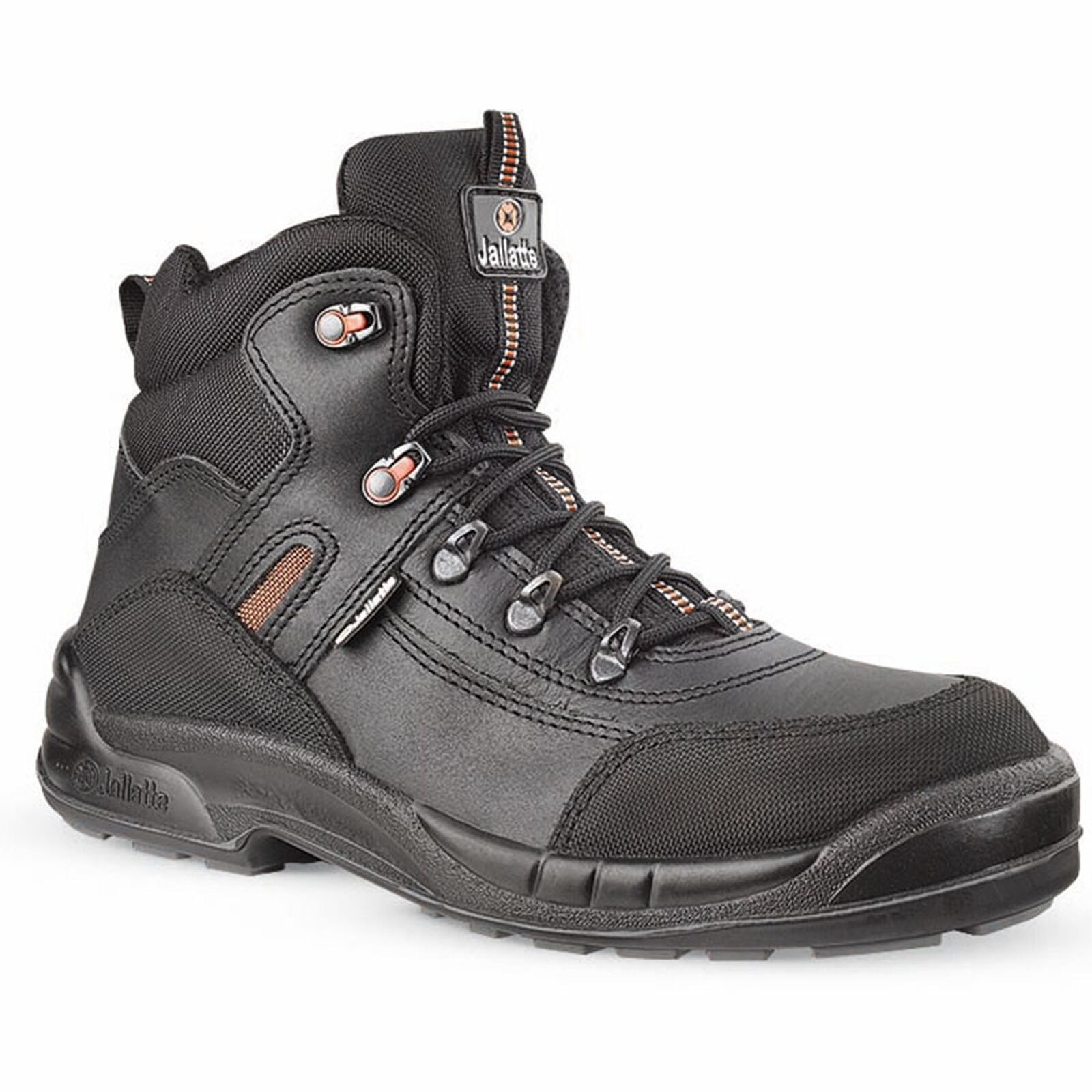 Jallatte Jalsphinx J0628 Black Mens Boots Lace Safety Toecap Midsole Work S3