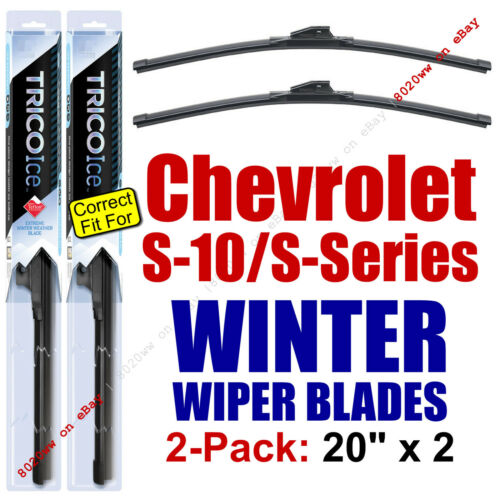Chevrolet S-Series 35200x2 WINTER Wipers 2-Pk Premium fit 1994-2004 Chevy S-10