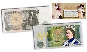 QUEEN-ELIZABETH-II-COLORIZED-ART-Genuine-BANK-OF-ENGLAND-Legal-Tender-MUST-SEE