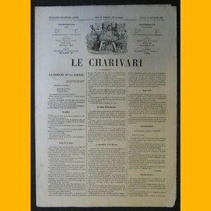 Journal-LE-CHARIVARI-dessin-de-Draner-16-fevrier-1874
