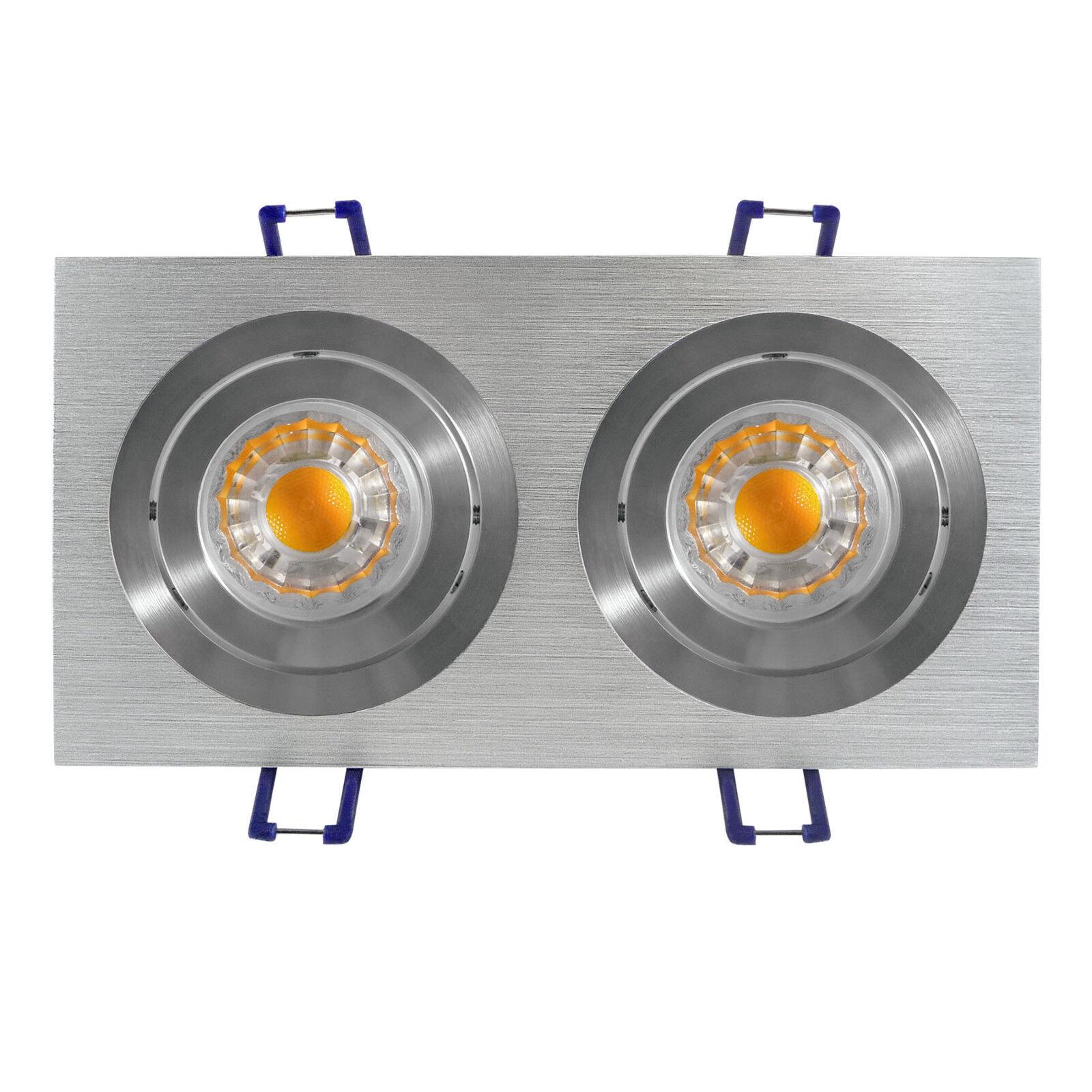 LED montaje techo lámpara LED emisor mantas instalación emisor LED gu10-Oberon 2 x 6 vatios 540 LM 4fd925