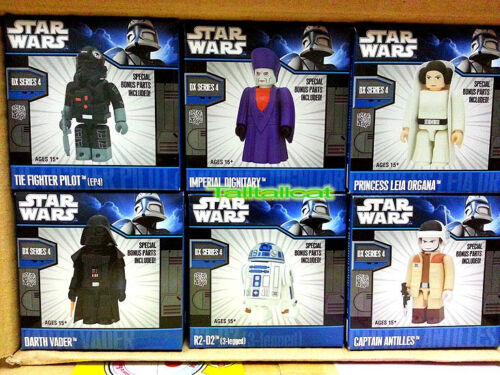 Medicom Toy Star Wars Kubrick DX Series 4 with PROBOT Set of 7