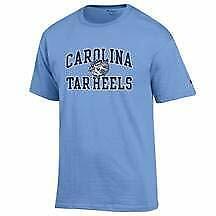 Light Blue North Carolina UNC Tar Heels with Logo NCAA T Shirt