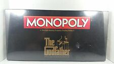 2012 THE GODFATHER MONOPOLY GAME DISCONTINUED NEW IN SEALED BOX