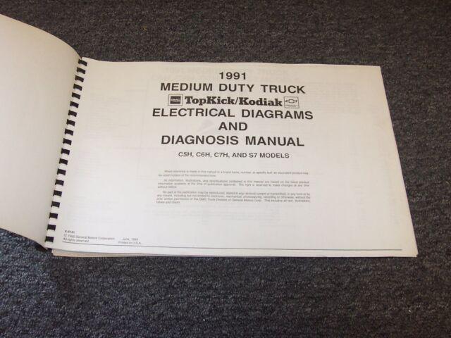 1991 Chevy Kodiak 40 50 60 70 C5 C50 C6 C60 C7 Electrical