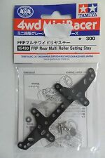 TAMIYA MINI 4WD PIASTRA UNIVERSALE POSTERIORE FRP REAR SETTING STAY  ART 15430