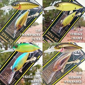 Megabass-DX-FREE-2-0-or-3-0-crankbait-bass-fishing-lures