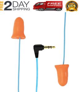1st Generation Orange Hear Protection Gym Lawn Earbuds Plugfones Ear Plugs