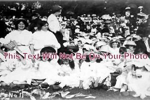 CO-94-King-George-V-Coronation-Party-Penzance-Cornwall-1911-6x4-Photo