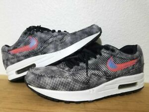 official photos cd605 5941f Details about Nike Air Max 1 FB QS Hypervenom Sz 9 Black Crimson 744491-001  90 95 97 OG