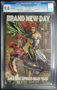 Amazing Spider-Man #549 Marvel Comics CGC 9.8 White Pages Variant Cover