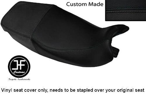 BLACK AUTOMOTIVE VINYL CUSTOM FOR TRIUMPH SPRINT 900 93-98 DUAL SEAT COVER ONLY