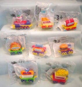 Sonic Drive In Wacky Chew Chew Food Train Kids Meal Pack Toy Set Dr
